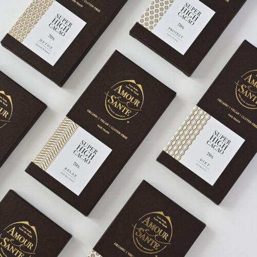 アムールエサンテのチョコレートについてイメージ